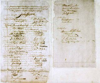 Olive Branch Petition Petition from the 13 Colonies to King George III