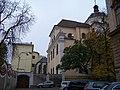 Olomouc, Na hradě, dominikánský klášter, z Univerzitní.jpg