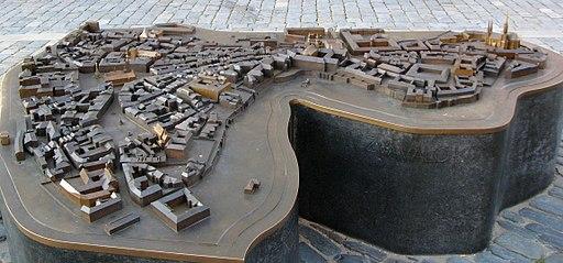 Olomouc - model
