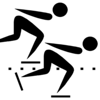Olympic pictogram Speed skating.png