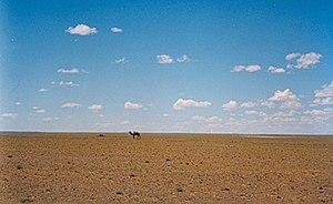 Gobi Desert - Gobi Desert landscape in Ömnögovi Province, Mongolia