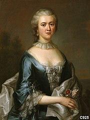 Agetha van Foreest (1733-1801). Echtgenote van (1) Joan van Foreest en (2) Jan Schenk