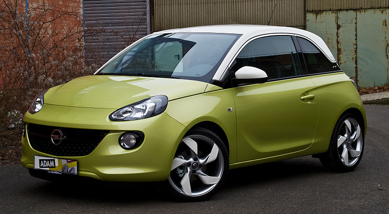 file opel adam 1 4 slam frontansicht 15 januar 2014 d wikimedia commons. Black Bedroom Furniture Sets. Home Design Ideas