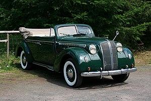 Opel - Opel Admiral convertible (1937–1939)