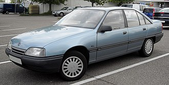 Chevrolet Omega - Opel Omega A on which the Chevrolet Omega A is based