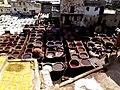 Open Air Tanneries Fez el Bali Fez Morocco - panoramio (2).jpg