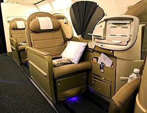 OpenSkies - OpenSkies Biz Bed seats