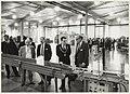 Opening van de nieuwe fabriekshal van de Plysu-fabriek van kunststofverpakkingen door burgemeester IJsselmuiden. NL-HlmNHA 54023602.JPG