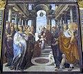 Oratorio superiore di s. bernardino, sodoma, presentazione di maria al tempio 2.jpg