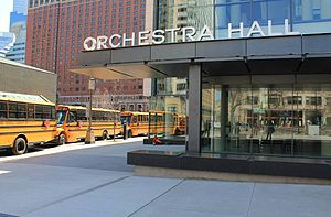 Orchestra Hall (Minneapolis) - Orchestra Hall Peavey Plaza entrance area