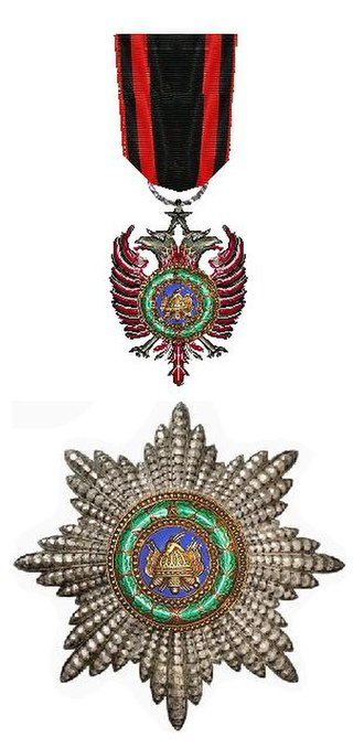 Order of Skanderbeg (1925–90) - Image: Orde van Skanderbeg (Albanië)