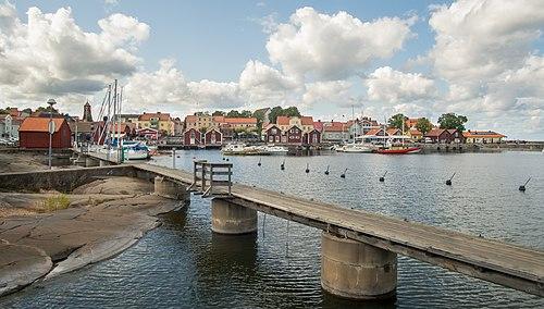 Öregrund Hamn in Sweden