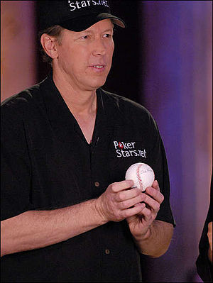 Orel Hershiser - Hershiser at the NBC Heads-Up Poker championships in 2008
