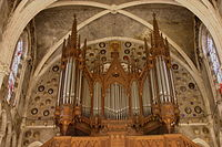Organ - Basilica of the Immaculate Conception - Lourdes 2014.JPG