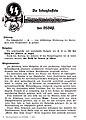 """Organisationsbuc00nati 0 orig 0623 ORGANISATIONSBUCH DER NSDAP 1943 Seite 417 Schutzstaffel SS Die Schutzstaffeln der NSDAP. """"Meine Ehre heisst Treue"""" Dolch Public domain Cropped Contrast.jpg"""