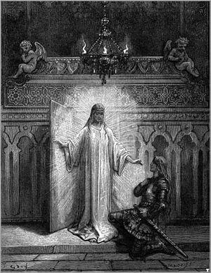 Melissa (sorceress) - Melissa and Bradamante, in Gustave Doré's illustration to Orlando Furioso