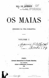 Eça de Queirós: Os Maias