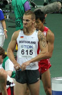 Thomas Blaschek German hurdler