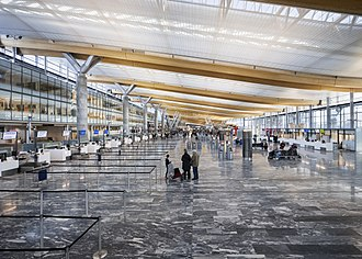 Oslo Airport, Gardermoen - Check-in area