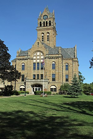 Ottawa County, Ohio - Image: Ottawa County Courthouse 2