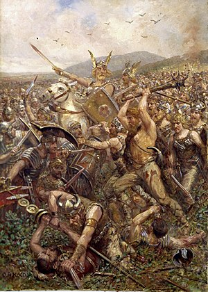 The Varus battle by Otto Albert Koch , 1909