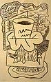 Otto Hahn - Pień drzewa i liście.jpg