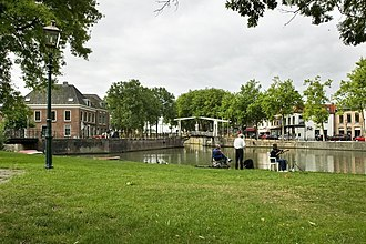 Nieuwegein - Canal through Nieuwegein