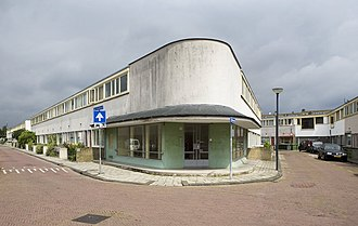 International Style (architecture) - Kiefhoek housing, Rotterdam, by Jacobus Oud