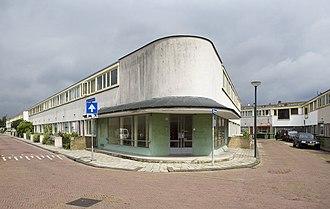 International Style (architecture) - Kiefhoek housing, Rotterdam, by Jacobus Oud