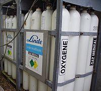 bouteilles de gaz propane