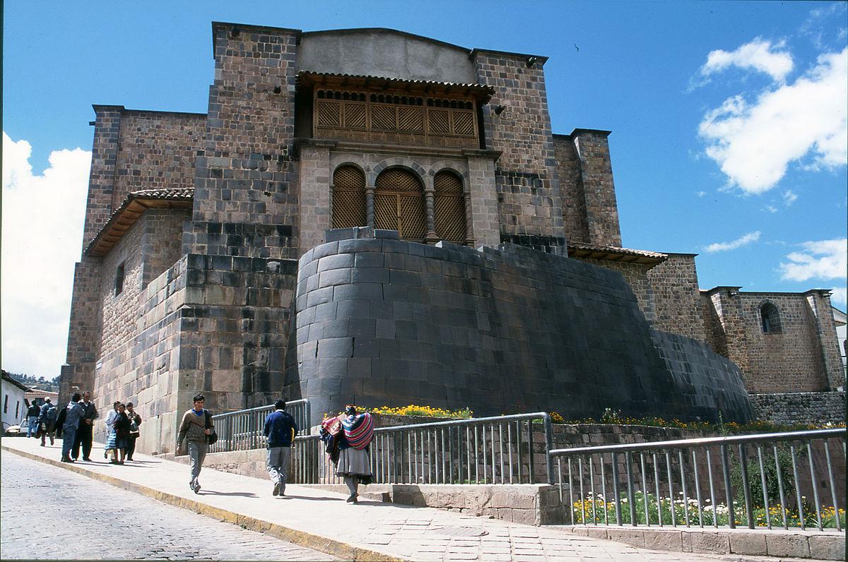 Coricancha wikipedia for Arquitectura quechua