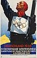 P-B-19-50 Hohlwein-L-Olympische-Winterspiele-1936-ONLINE Ludwig HOHLWEIN DEUTSCHLAND 1936 IV OLYMPISCHE WINTERSPIELE GARMISCH-PARTENKIRCHEN 6.-16. FEBRUAR Plakat Poster Münchner Stadtmuseum CC BY-SA 4.0.jpg