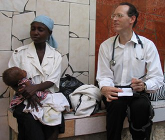 Paul Farmer - Image: PEF with mom and baby Quy Ton 12 2003 1 1 310