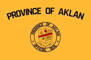 Aklan Province in Western Visayas, Philippines