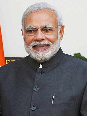 Bharatiya Janata Party - Narendra Modi became the Prime Minister of India, following the 2014 Indian general election.