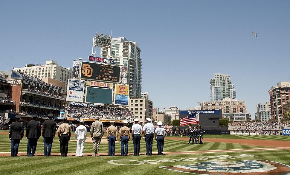 Padres Military Appreciation April 2011