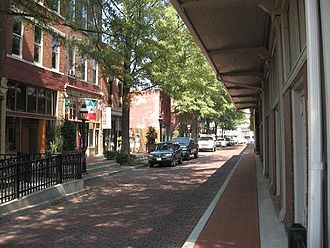 Paducah, Kentucky - Historic Downtown Paducah