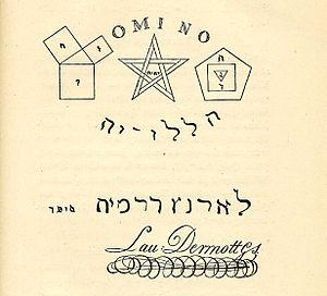 Laurence Dermott cover
