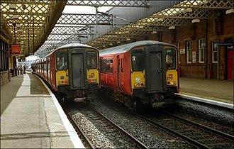 Ayrshire Coast Line - Image: Paisley Gilmour Street station geograph.org.uk 573004