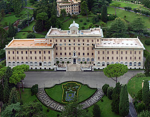 Palace of the Governorate. Vatican City State.