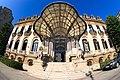 Palatul Cantacuzino - Vedere Frontala Fisheye.jpg