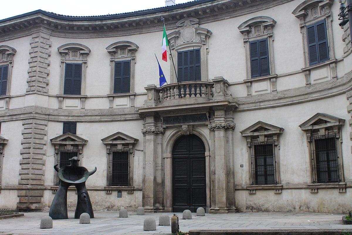 Palazzo del senato milano wikipedia for Sede senato italiano