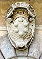 Palazzo mediceo di seravezza, 1555, stemma medici con collare del toson d'oro.JPG