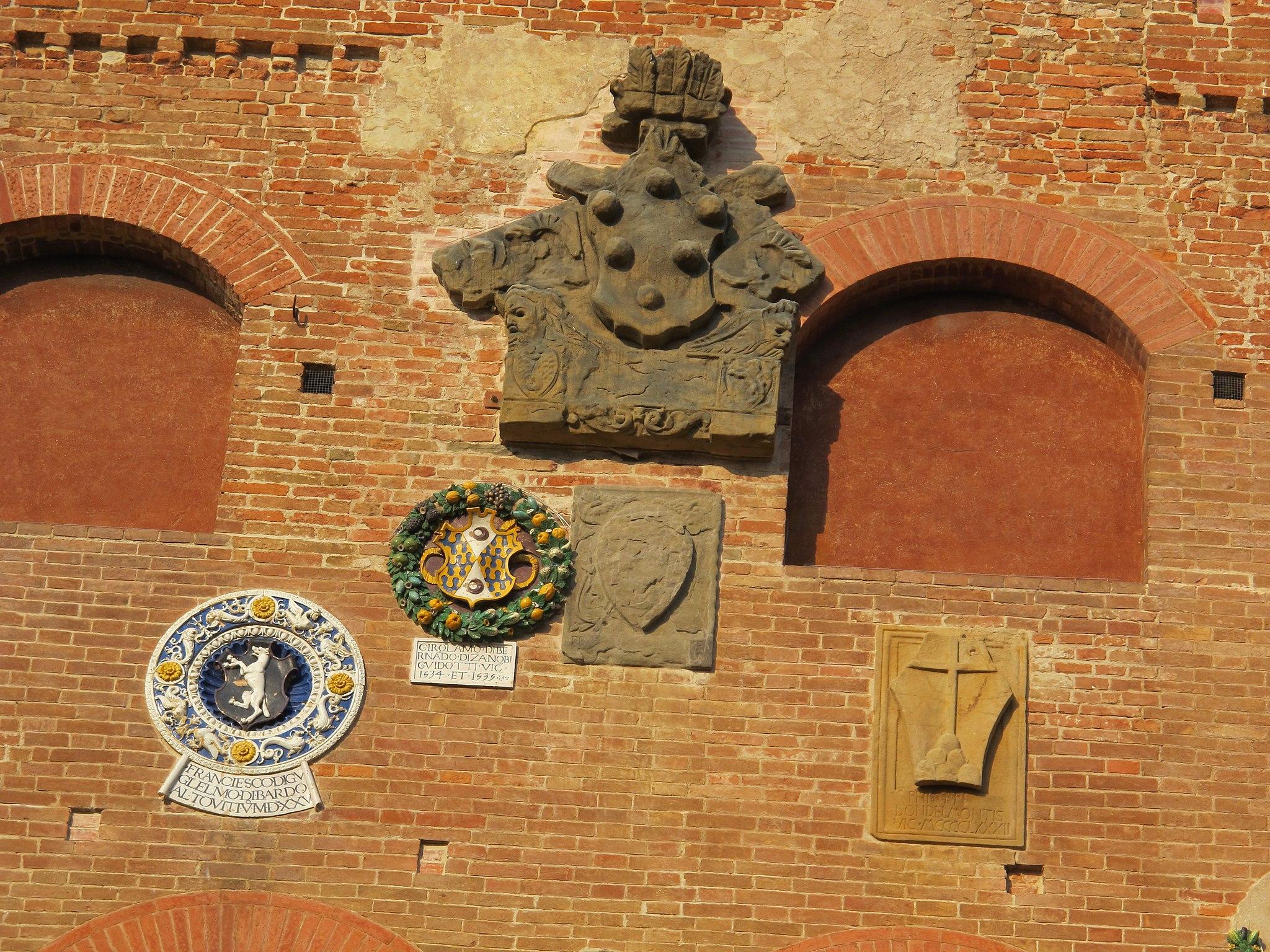 Palazzo vicariale di certaldo, facciata 07