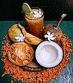 Pana Sankranti (Maha Vishuba Sankranti) offerings with Bela Pana juice.jpg