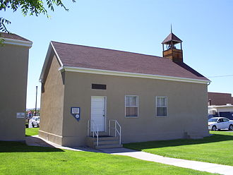 Panaca, Nevada - The Panaca Ward Chapel (1867–1868) is the oldest building in Lincoln County.