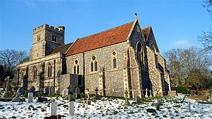 Shorne - St Peter and St Paul's church at Shorne.