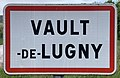 Panneau Entrée Vault Lugny Rue Papeterie - Vault-de-Lugny (FR89) - 2021-05-17 - 1.jpg