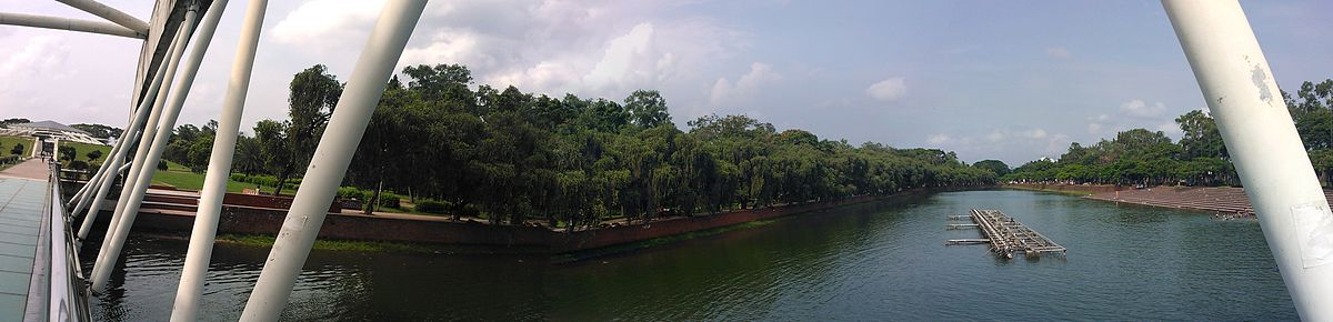 Panorama of Crescent Lake - Chandrima Uddan