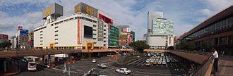 Sendai Station (Miyagi) - West exit view